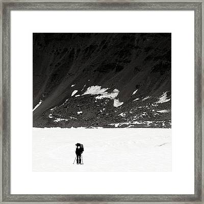 In The Mountains Framed Print by Konstantin Dikovsky