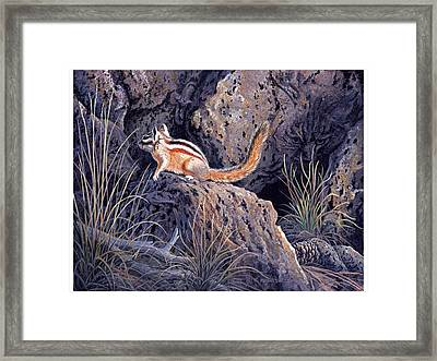 In The Presence Of My Enemies Framed Print by Michael Bartlett
