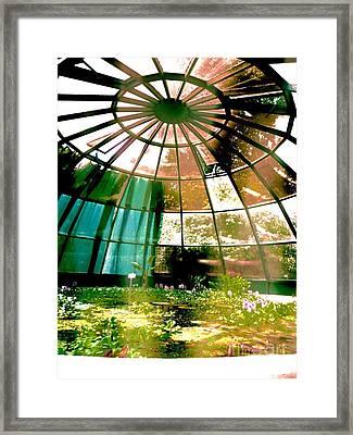 In The Sauna Framed Print by Mariann Makrai