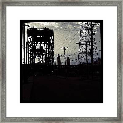 In The Shadows Pt 2 Framed Print