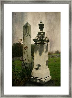 Framed Print featuring the photograph In The Silence by Joan Bertucci