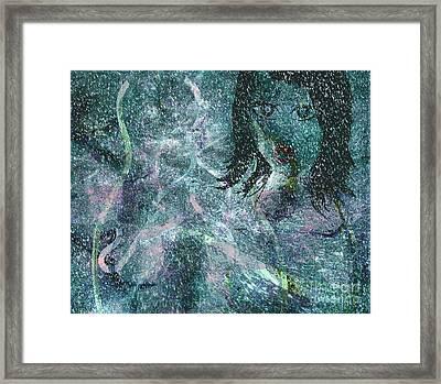 In The Snow Framed Print by Fania Simon