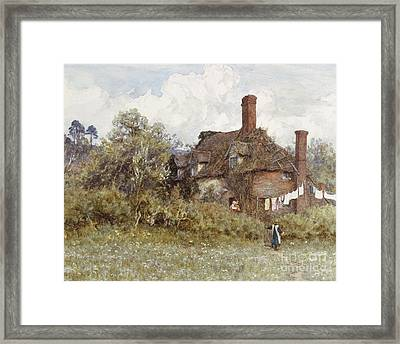 In The Spring Framed Print by Helen Allingham