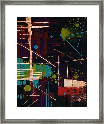 In The Still Of The Night Framed Print by Charlotte Nunn