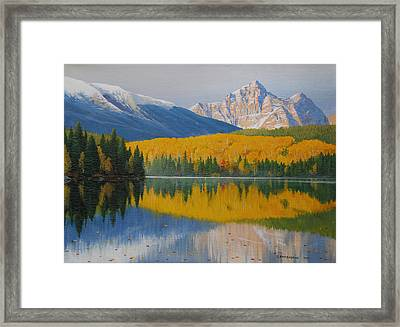 In The Stillness Framed Print by Jake Vandenbrink