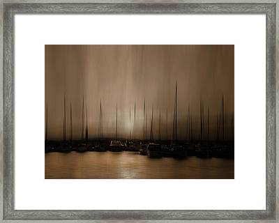In The Twilight Hour Framed Print