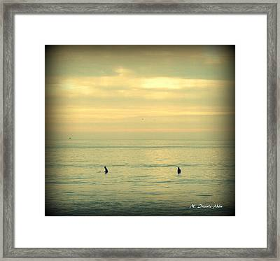 In The Water Framed Print by Mily Iriarte