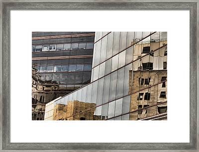 In The Windows Framed Print by Juanita L Ruffner