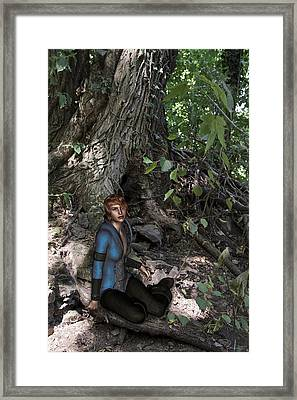 In The Wood Framed Print