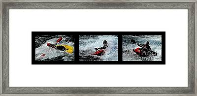 In The Zone No Caption Framed Print by Bob Christopher