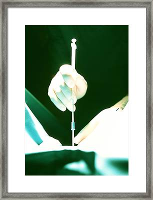 In Vitro Fertilization Framed Print by Mauro Fermariello