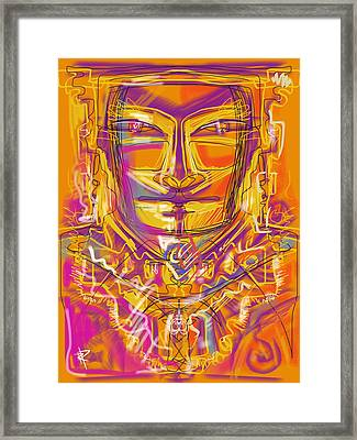 Inca King Framed Print by Russell Pierce