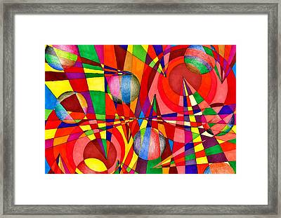 Incantations Framed Print by Lesa Weller
