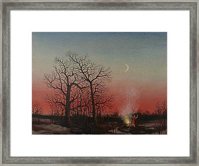Incantations Of The Witch Framed Print