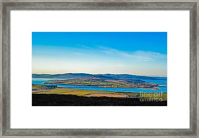 Inch Island County Donegal Ireland Framed Print by Black Sun Forge