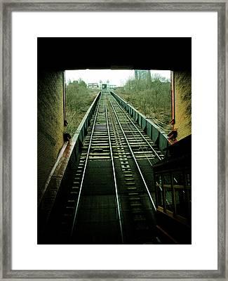 Inclination Framed Print by Jessica Brawley