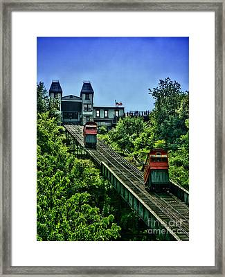 Incline Framed Print by Arthur Herold Jr