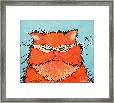 Incognito  Framed Print by Kristi L Randall