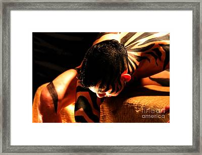 Incognito Framed Print by Robert D McBain