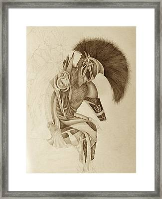 Incomplete Guardian  Framed Print by Melissa Cabigao