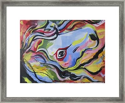 Incredible Horse Framed Print
