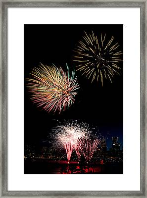 Independence Day D2502 Framed Print by Wes and Dotty Weber