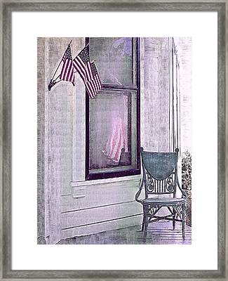 Independence Day Framed Print by Susan Lee Giles