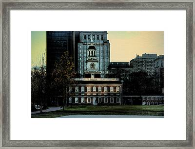 Independence Hall - The Cradle Of Liberty Framed Print by Bill Cannon