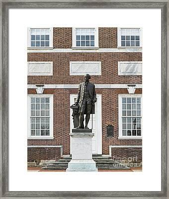 Independence Hall Philadelphia Framed Print by John Greim