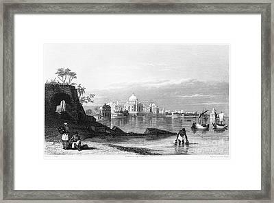 India: Taj Mahal, C1860 Framed Print by Granger