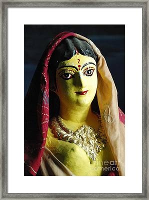 Framed Print featuring the photograph Indian Beauty by Fotosas Photography