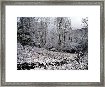 Indian Creek Framed Print