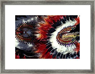 Framed Print featuring the photograph Indian Headdress by Tom Wurl