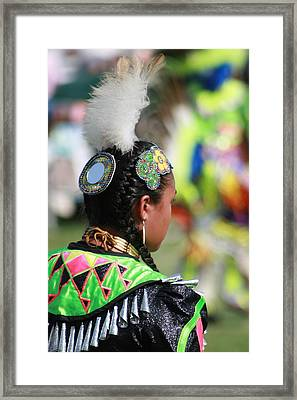 Indian Princess Framed Print