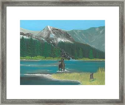 Indian River Framed Print by Donna Leach