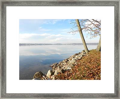 Indian Summer Day Framed Print by Dennis Leatherman