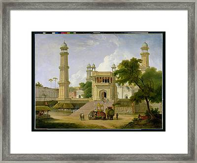 Indian Temple Framed Print by Thomas Daniell