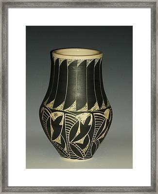 Indian Vase Framed Print by Ken McCollum