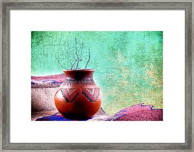 Indian Vessel Framed Print