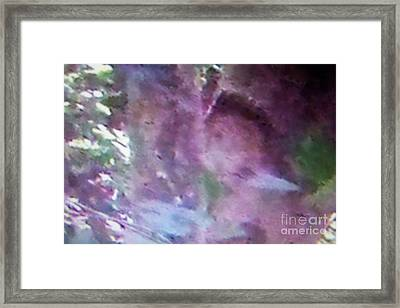 Indian Warriors Hiding In The Trees Framed Print by Greg Geraci