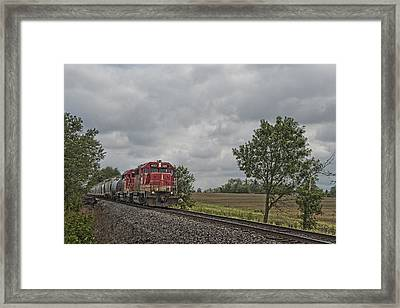 Indiana Southern 4051 At Mackey Indiana Framed Print by Jim Pearson