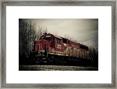 Indiana Southern Framed Print by Off The Beaten Path Photography - Andrew Alexander