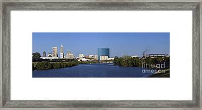 Indianapolis - D007990 Framed Print by Daniel Dempster