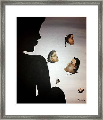 Indifferents Framed Print by Edwin Alverio