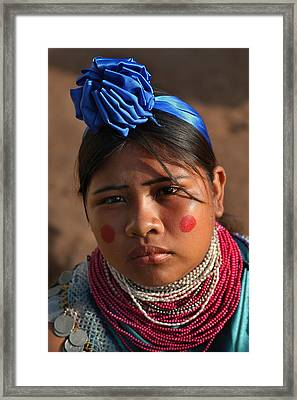 Indigenous Guarani Women. Department Of Santa Cruz. Republic Of Bolivia.    Framed Print by Eric Bauer