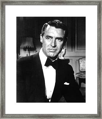 Indiscreet, Cary Grant, 1958 Framed Print