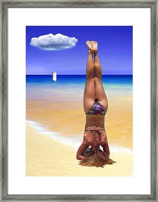 Individual Perspective Framed Print by Snake Jagger