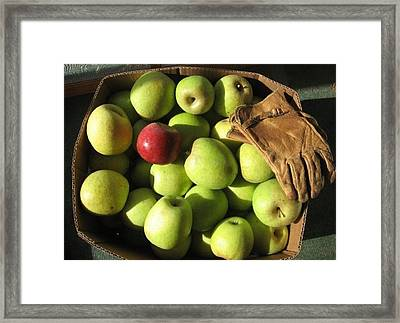 Individuality Framed Print