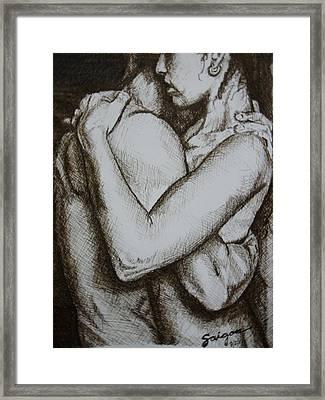 Indomitos Opus Framed Print by SAIGON De Manila
