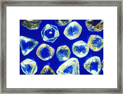 Industrial Diamonds Framed Print by Sinclair Stammers